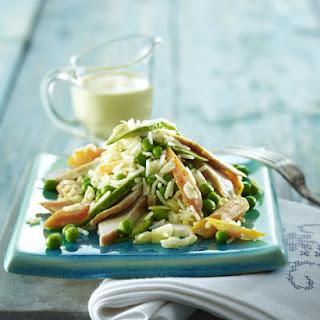Curried Turkey and Avocado Rice Salad.