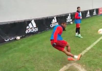 Les joueurs du Bayern s'exercent à la précision