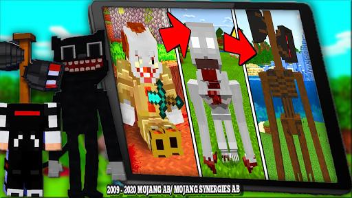 Cartoon Cat Mod & New Siren Head Mod For MCPE apktram screenshots 20