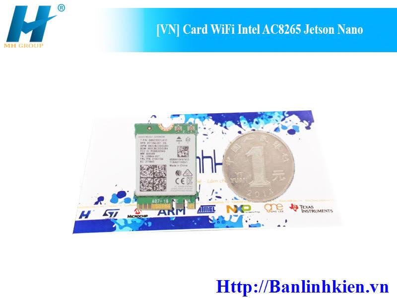 [VN] Card WiFi Intel AC8265 Jetson Nano