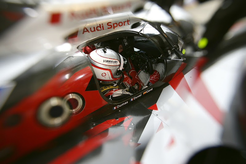 Photo: Romain Dumas (F) Audi R18 ultra #3 (Audi Sport Team Joest)
