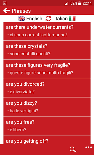italian and english dictionary free download
