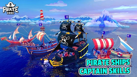Pirate Code – PVP Battles at Sea – MOD (Speed up/Torpedo) 4