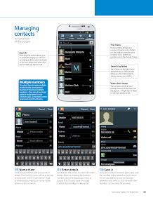 Samsung Galaxy for Beginners- screenshot thumbnail