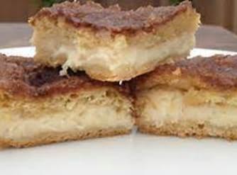 Cinnamon Cheese Cake Bars