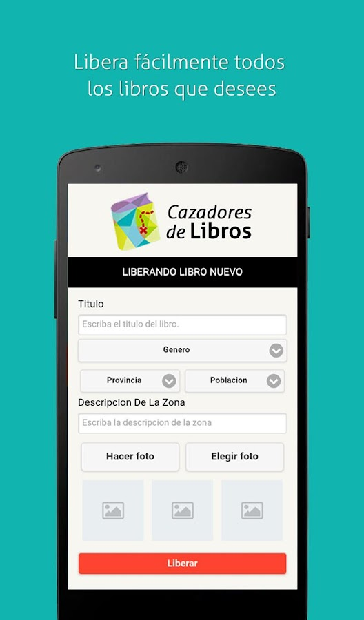 Cazadores de Libros- screenshot