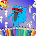 How To Draw and Coloring Happy tree Friends icon