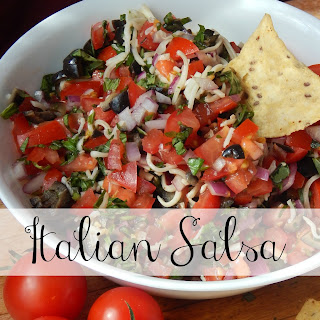 Italian Salsa (& staying safe in the summer sun!).
