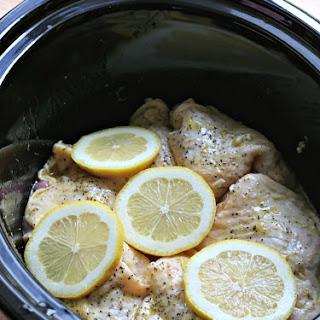 Lemon Pepper Chicken Thighs.