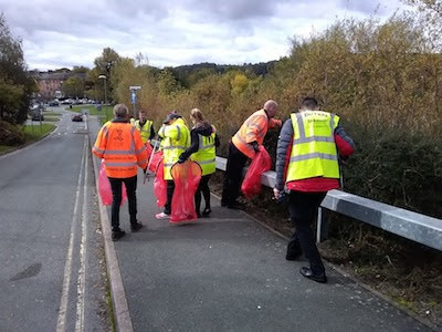 Litter, litter and more litter - but volunteers step in