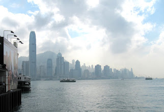 Photo: Day 194 -  View of  HK Island from Star Ferry Port in  Victoria Harbour