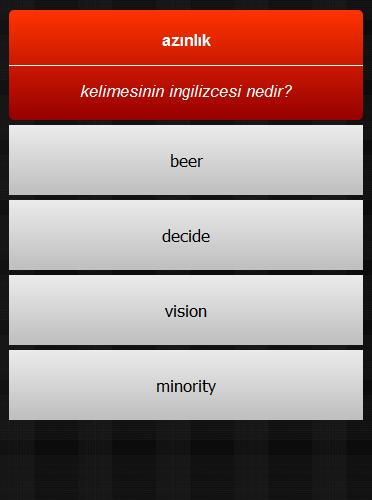 玩免費拼字APP|下載İngilizce Kelime Oyunum app不用錢|硬是要APP