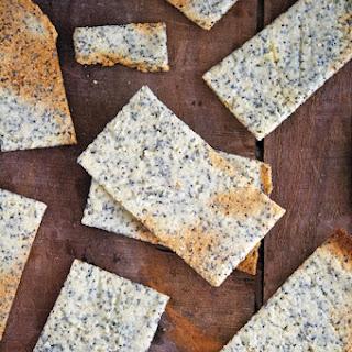 Almond-Poppy Crackers