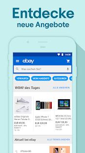 ebay deals angebote kaufen verkaufen sparen apps bei google play. Black Bedroom Furniture Sets. Home Design Ideas