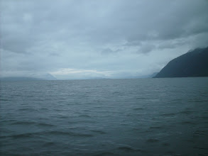 Photo: Heading north up Lynn Canal.