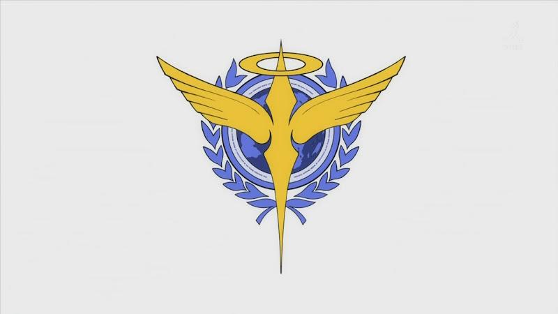 Gundam 00 episode 2: This flag looks strangely familiar