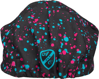 All-City 10th Anniversary Cycling Cap: Black/Multi-color, One Size alternate image 0