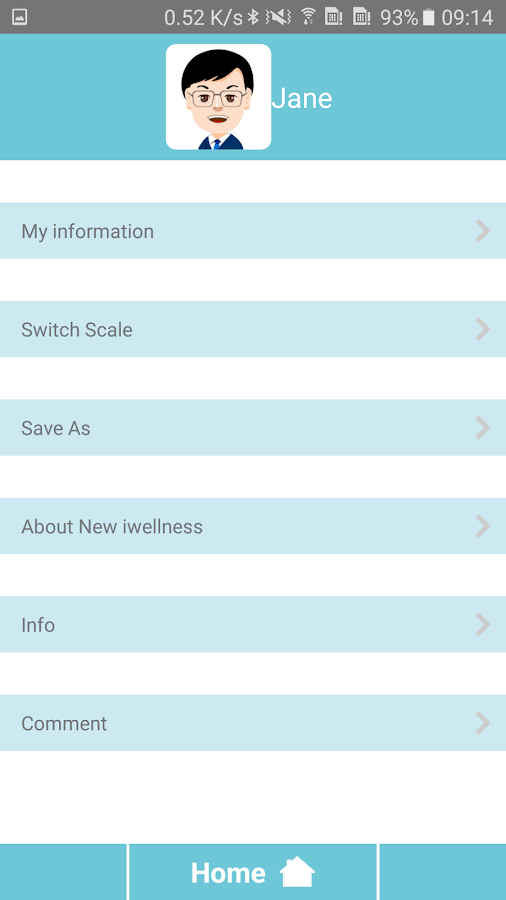 New iwellness- screenshot