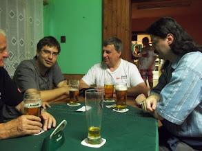 Photo: posezení v autcampu v restauraci