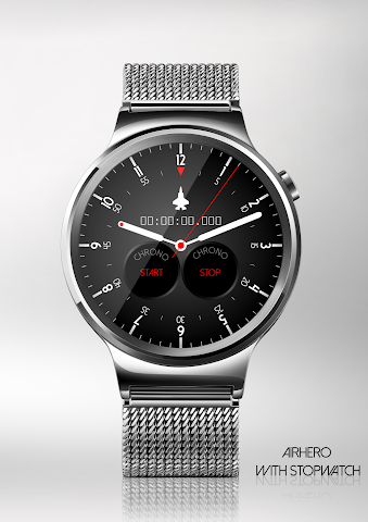 android Airhero Watch Face Screenshot 1