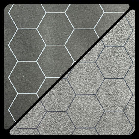 Battlemat™ 1inch Reversible Black-Grey (release Juli)
