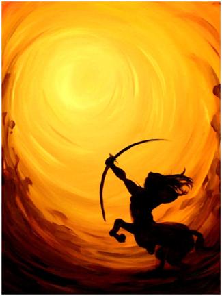 Sun & zodiac sign Sagittarius