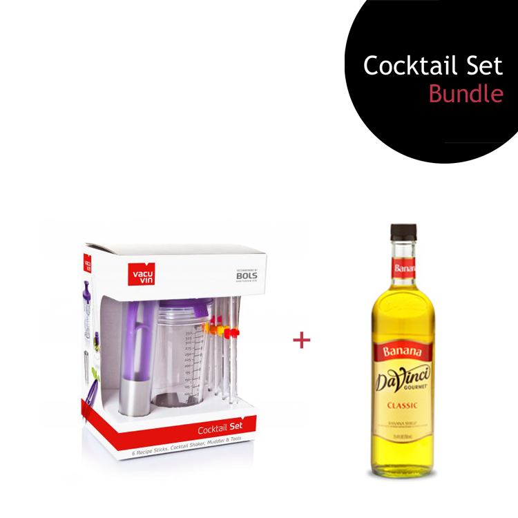 [Bundle] Cocktail Set + Banana Syrup by ECIATTO GROUP SDN BHD