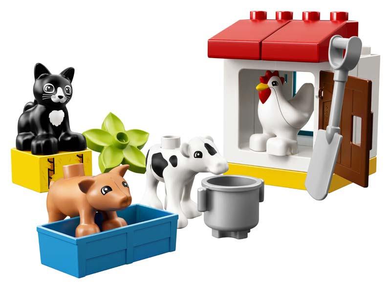 Contenido de Lego® 10870 Animales de la Granja