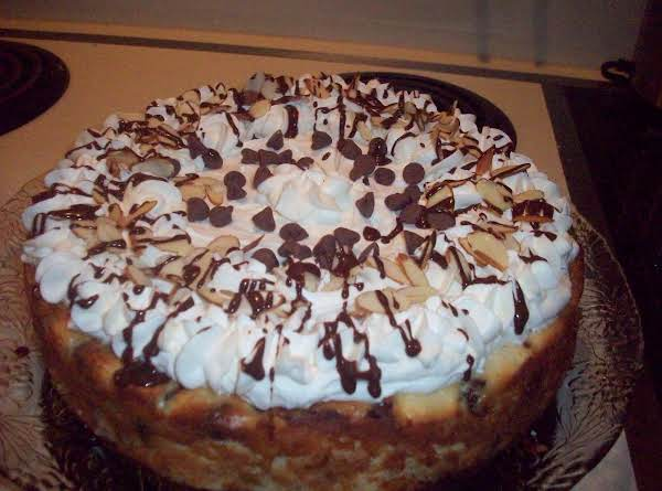 Coconut-almond Chocolate Chip Cheesecake Recipe