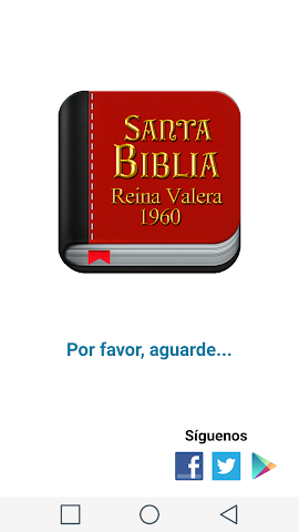 android Santa Biblia Español Screenshot 0