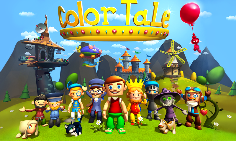 Color Tale: Game for Kids- screenshot
