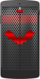 Metal Bat Zip Screen Lock screenshot 14