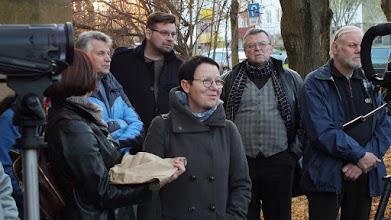Photo: 2015 m. lapkričio 3 d. Šabakštyne – Šiaulių menininkų dirbtuvių pašonėje buvo paminėti Anapilin išėję menininkai.
