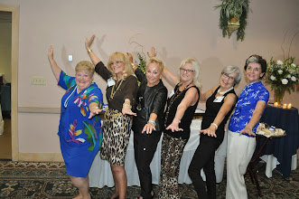 Photo: Jeannie Chestnut, Dotty (Baltzell) Essex, Vicki (Thomas) Francolucci, Kathi (Towery) O'Bryant, Ann (Yarbrough) Golinsky, Terri (Miller) Leclercq