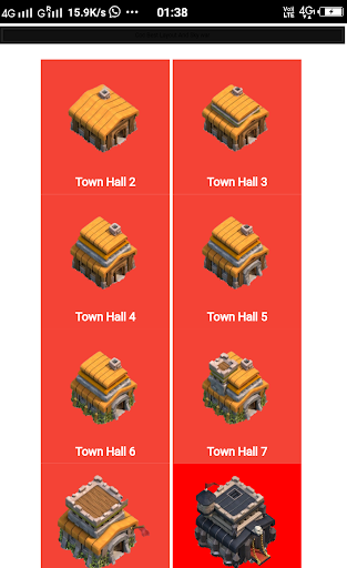 layout for clash of clans  screenshots 1