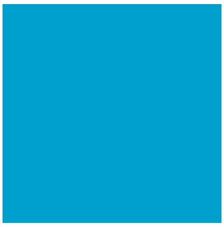 Kaffeservetter Pacific blue