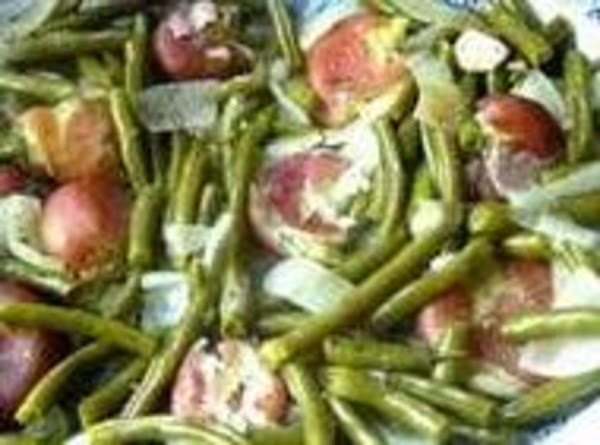Simple Green Beans With Ham Recipe