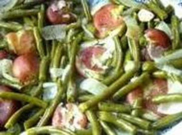 Simple Green Beans With Ham