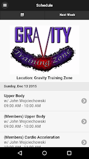Gravity Training Zone- screenshot thumbnail