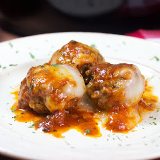 Low-Carb Meatball Parmesan For A Quick Easy Dinner.