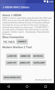 J-XBDM MW2 – Mod your XBOX 360 Jtag/RGH through your android device