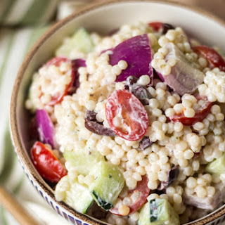 Greek Couscous Pasta Salad