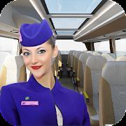 Virtual girl tourist bus waitress jobs : Dream Job