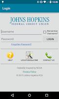 Screenshot of Johns Hopkins FCU