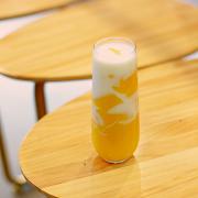Mango Pudding Milk Tea