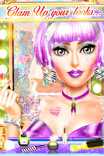 Code Triche My Daily Makeup - Jeu de filles APK MOD screenshots 3