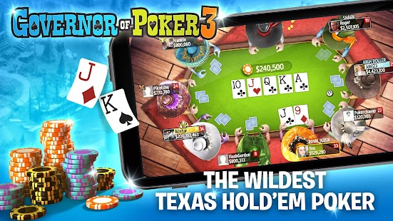Governor of Poker 3 - Texas Holdem Poker Online - náhled