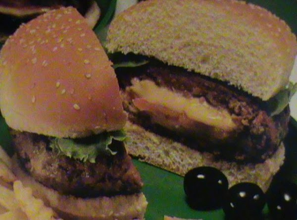 Stuffed Taco Burgers Recipe