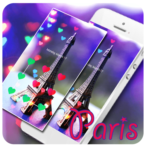 Love Paris Eiffel Tower Theme