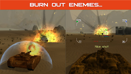 Tank Combat : Future Battles 1.6 screenshot 2092214